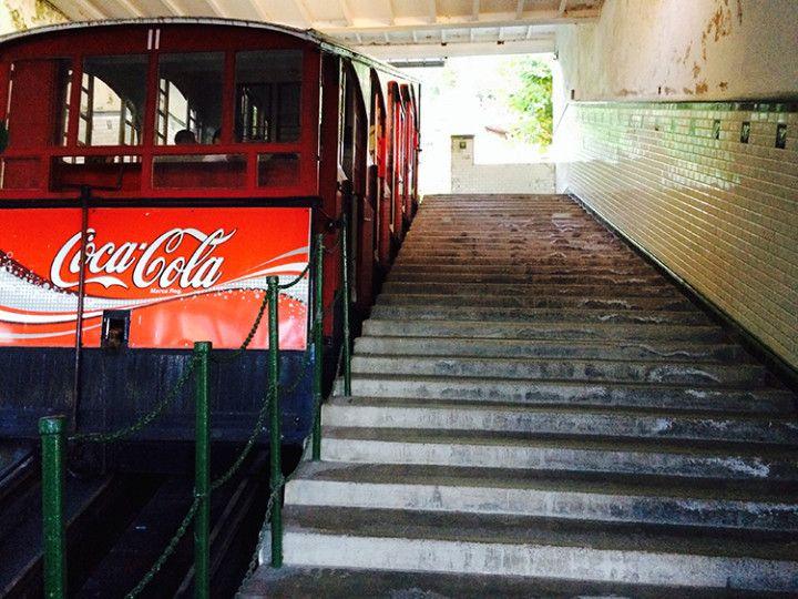 Foto: Eli Zubiria. Funicular del monte Igueldo, en San Sebastián.
