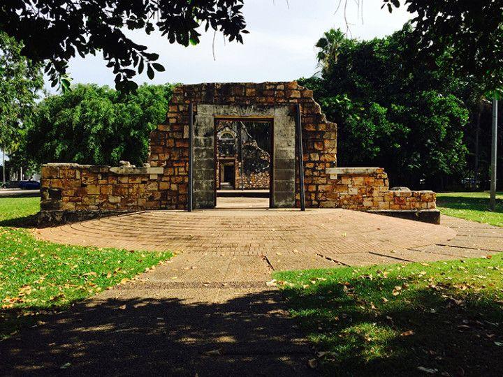 Foto: Eli Zubiria. Antiguo ayuntamiento de Darwin, Australia