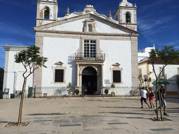 Foto: Eli Zubiria: Iglesia de Santa María , en Lagos, Portugal.