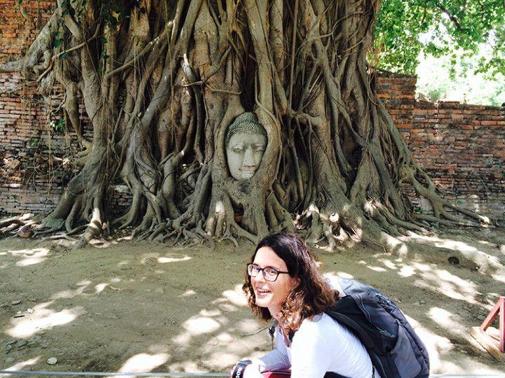 Foto: Eli Zubiria. Templo de Mahathat en Tailandia.
