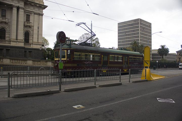 Foto:Eli Zubiria. Tranvía de Melbourne, en Australia