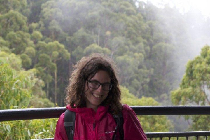 En el Parque Nacional de Otway en Australia