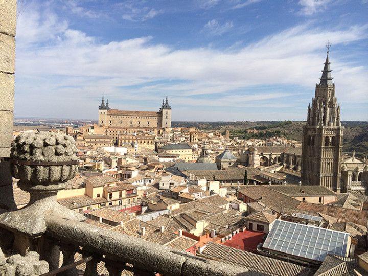 Foto: Eli Zubiria. Vista de Toledo desde la Iglesia de San Ildefonso, en España.