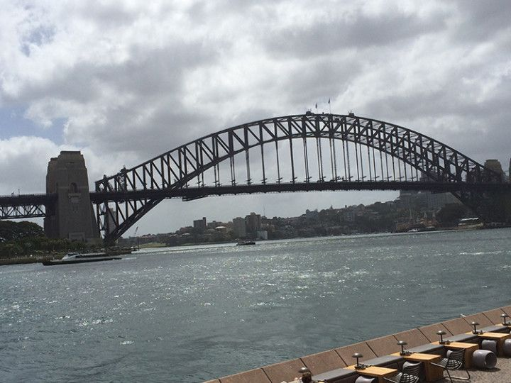Foto: Eli Zubiria. Vista del Harbour de Sydney, Australia