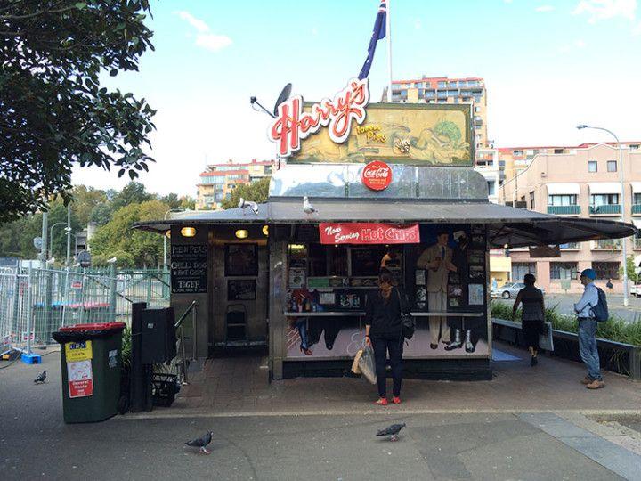 """El Harry's de Sydney es el mejor lugar de la ciudad para comerse un """"pie""""."""