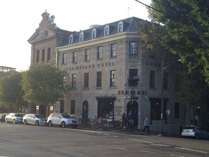Foto: Eli Zubiria.El hotel Lord Nelson es uno de los edificios emblemáticos de la parte vieja de la ciudad de Sydney, en Australia.