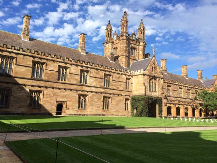 Universidad de Sydney, Australia.