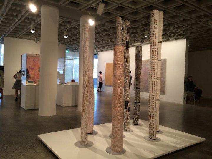Foto: Eli Zubiria. Exposición del Art Gallery NSW, en Sydney, Australia.