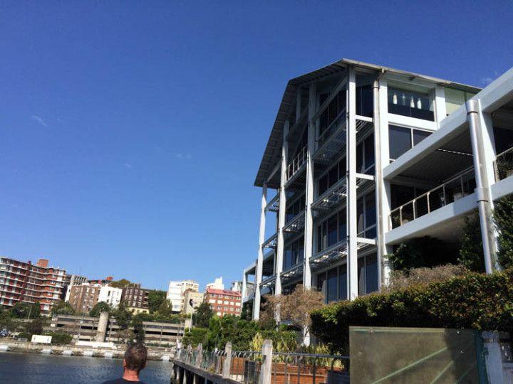 Foto Eli Zubiria. En el centro de Sydney se pude encontrar la casa del actor australiano Russell Crawe.