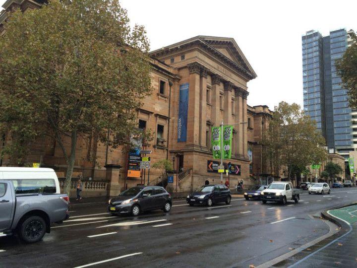 Edificio del Australian Museum, en Sydney, Australia