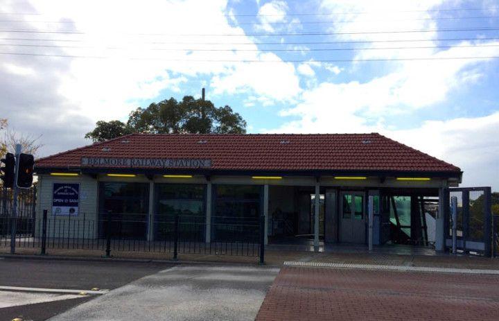 Foto: Eli Zubiria. Estación de tren de Belmore, en Sydney, Australia.