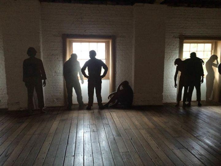 Recreación del día a día de los convictos en el Hydepark Barrack Museum., en Sydney, Australia.
