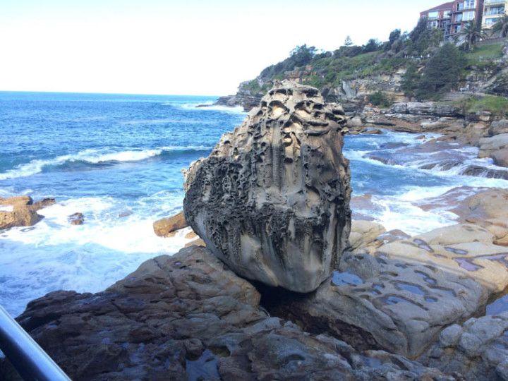 Foto: Eli Zubiria. Paisaje del paseo de la costa de Manly, en Sydney, Australia.