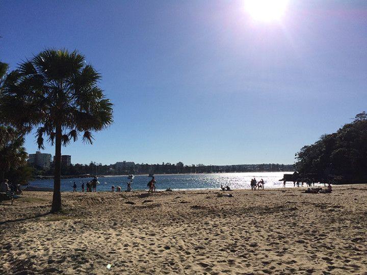Foto: Eli Zubiria. Bahía de Cabbage Tree, en Sydney, Australia
