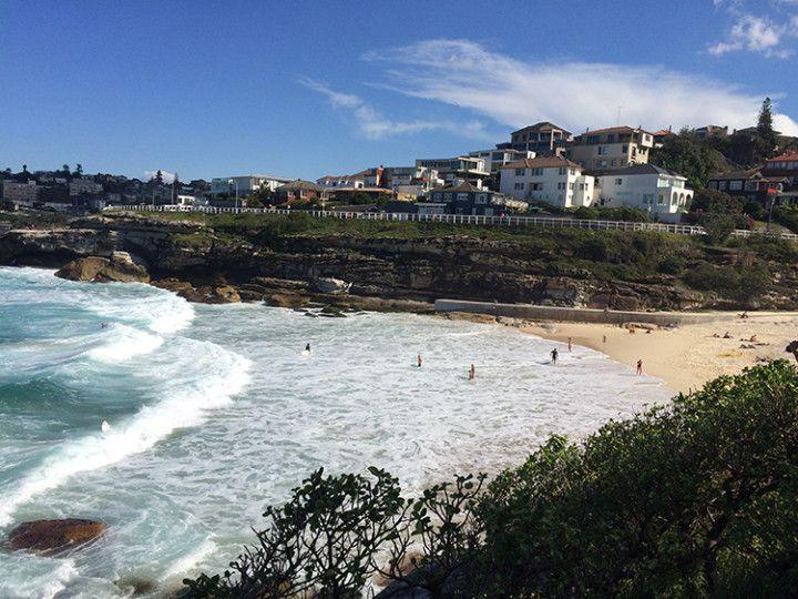 Foto: Eli Zubiria. Playa de Tamarama, en Sydney, Australia