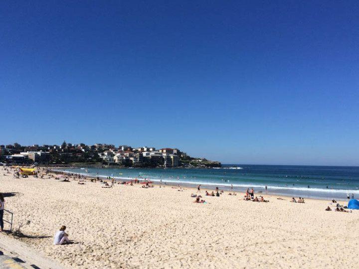 Foto:Eli Zubiria. Playa de Bondi, en Sydney, Australia.