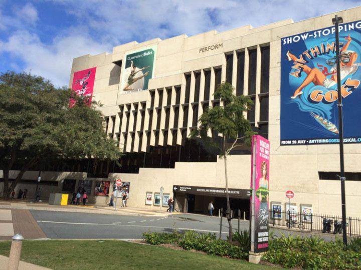Foto:Eli Zubiria. Centro Cultural de Brisbane donde están la mayoría de los museos de la ciudad.