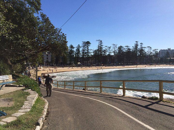 Foto: Eli Zubiria. Manly beach, en Sydney, Australia