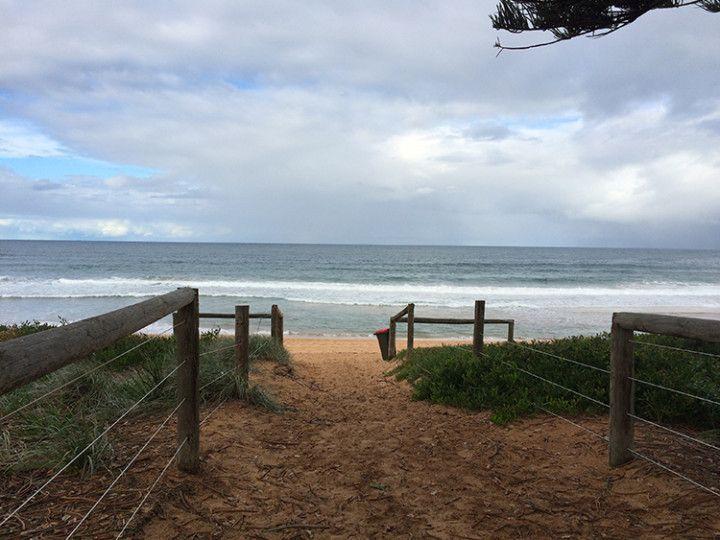 Foto:Eli Zubiria. Playa de Newport, en Sydney, Australia.