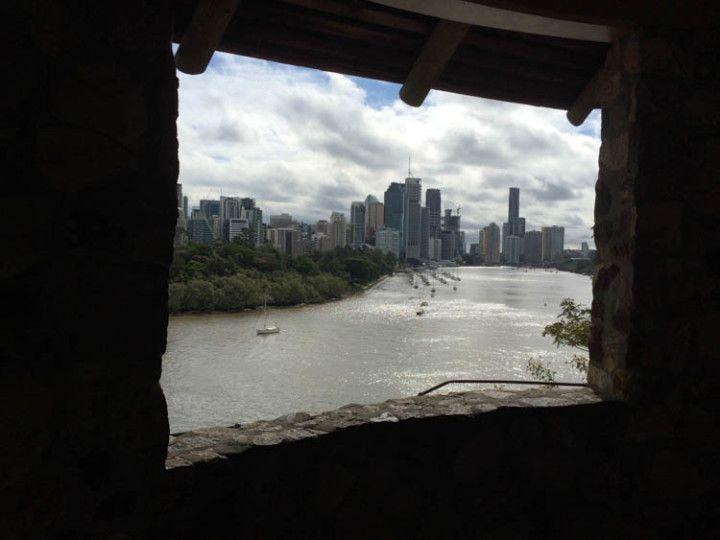 Foto:Eli Zubiria. Vistas desde el River Terrace de Brisbane en Australia