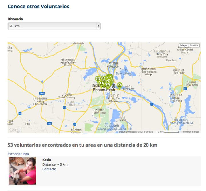 Busca voluntarios en Workaway