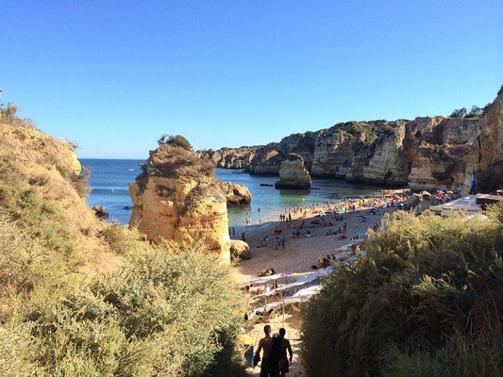 Foto: Eli Zubiria. Gracias a Workaway conocí Lagos, en el Algarve portugués.