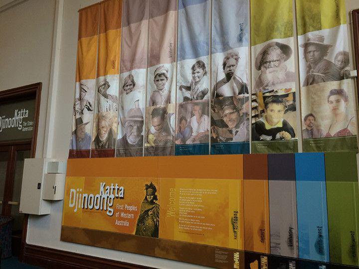 Foto: Eli Zubiria. Exposición dedicada a los aborígenes en el Western Australian Museum, de Perth, en Australia