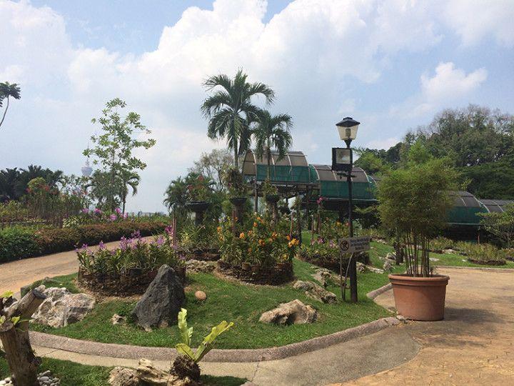 Foto: Eli Zubiria. Tun Abdul Razak Heritage Park, en Kuala Lumpur, Malasia