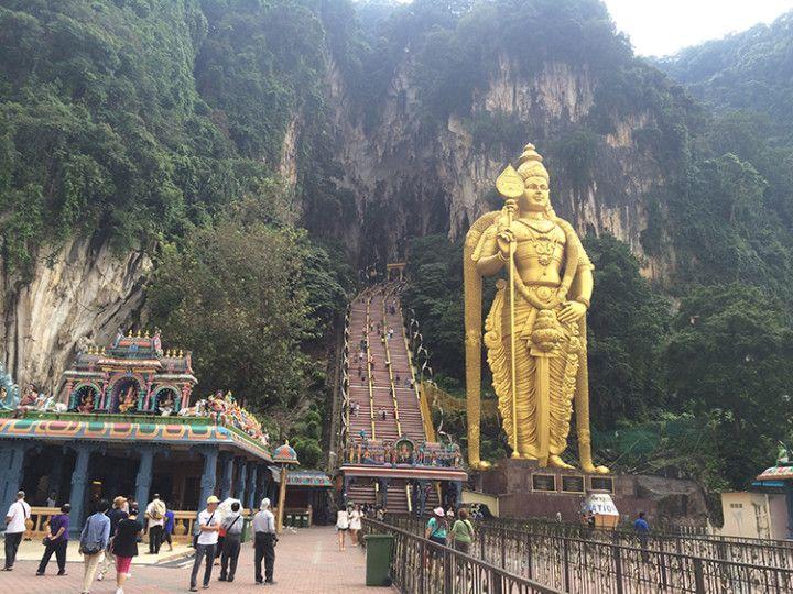 Foto: Eli Zubiria. Batu Caves, en Kuala Lumpur, Malasia
