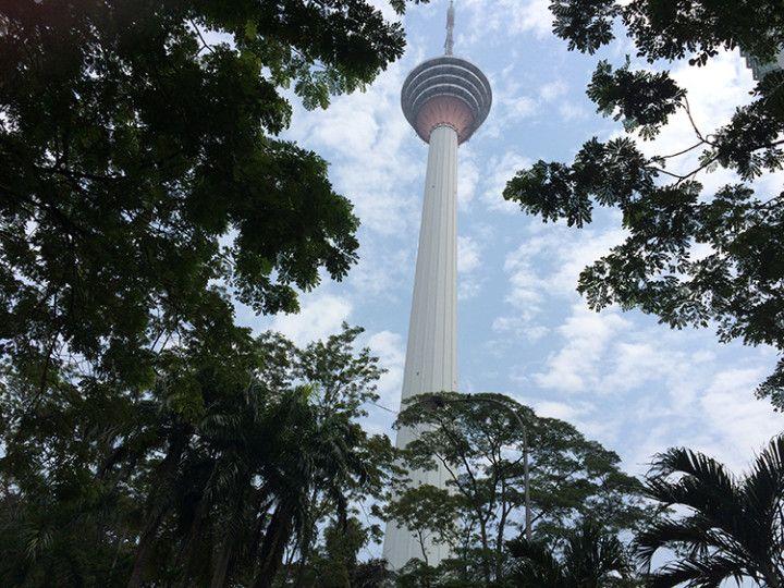 Foto: Eli Zubiria. Torre de Kuala Lumpur, en Malasia.