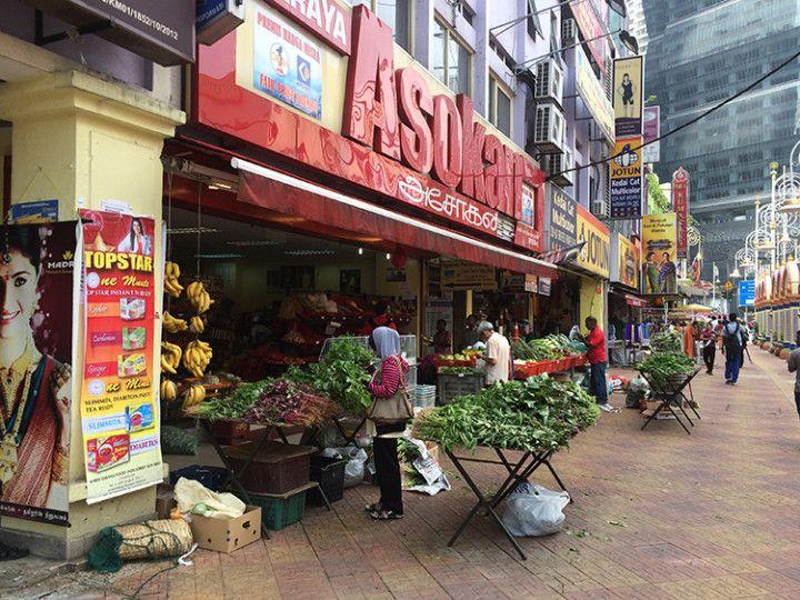 Foto: Eli Zubiria. Little India, en Kuala Lumpur, Malasia.