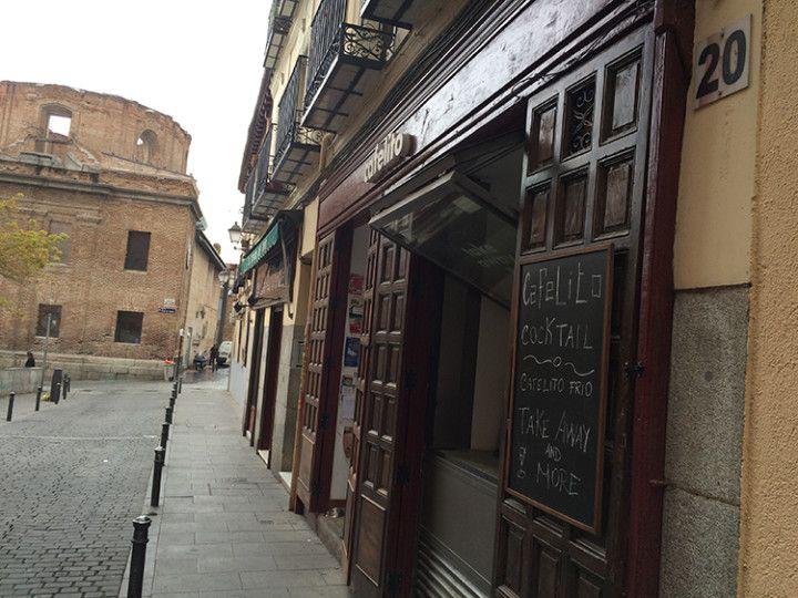 Foto: Eli Zubiria. Cafetería El Cafelito, en Lavapiés,, Madrid.