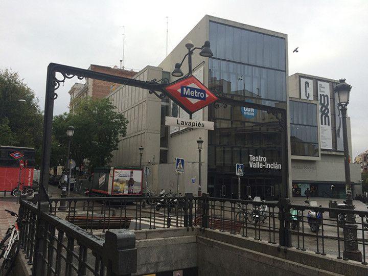 Foto: Eli Zubiria. Metro de Lavapiés, en Madrid
