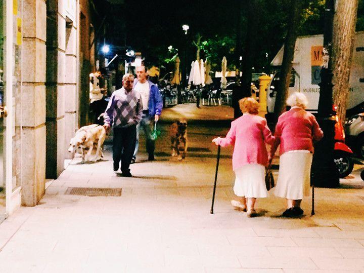 Foto: Eli Zubiria. Las gemelas de Lavapiés, en Madrid