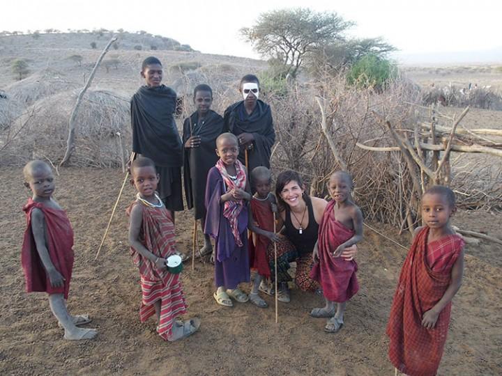 Kris on the way, 8 meses sola por África