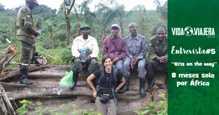 8 meses sola por África